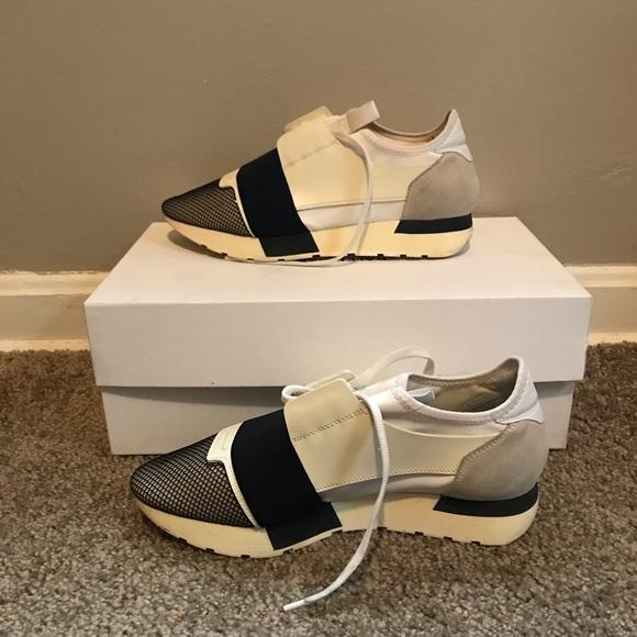 Womens Balenciaga Race Runner Sneakers